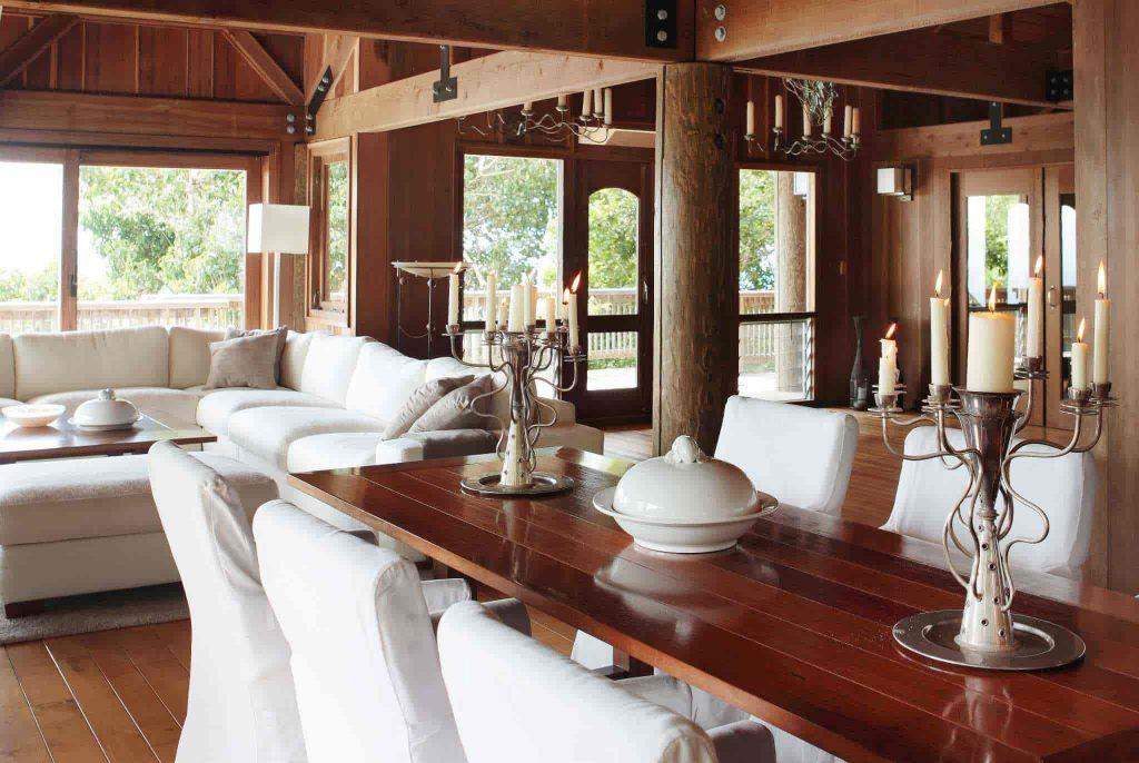 dinner table haiku house
